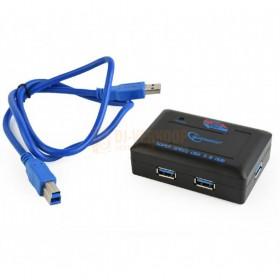 met kabel Gembird UHB-C344 - 4 poorts USB 3.0 hub