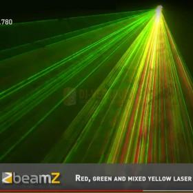 B-stock - BeamZ Cronus - Animatie Laser R/G/Y DMX SD - Animatie 3