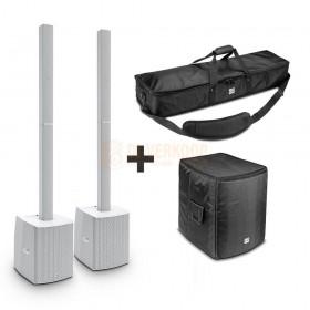LD Systems MAUI 28 G2 Compact Kolom PA System Set 4 Wit