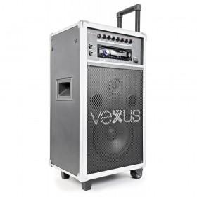 "VONYX ST110 Mobiele Geluidset 8"" CD/SD/USB/MP3 - Overzicht 1"