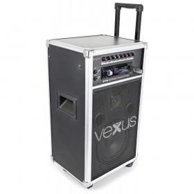 "VONYX ST110 Mobiele Geluidset 8"" CD/SD/USB/MP3 - Overzicht 2"