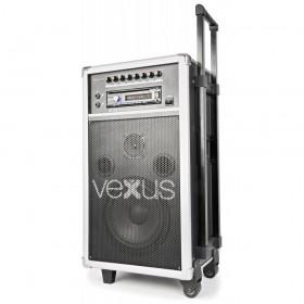 "VONYX ST110 Mobiele Geluidset 8"" CD/SD/USB/MP3 - Overzicht 3"