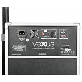"""VONYX ST110 Mobiele Geluidset 8"""" CD/SD/USB/MP3 - Aansluitingen"""