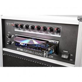 """VONYX ST110 Mobiele Geluidset 8"""" CD/SD/USB/MP3 - Mixer en cd/usb speler"""
