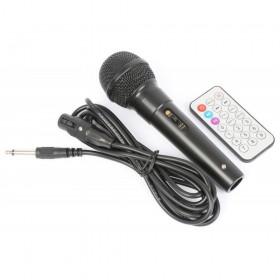 """VONYX ST110 Mobiele Geluidset 8"""" CD/SD/USB/MP3 - Microfoon en afstandsbediening."""