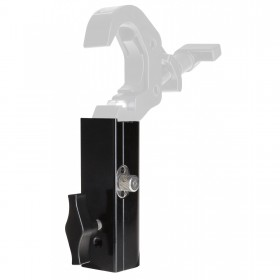 BRITEQ TV-SPIGOT RECEIVER - 28mm TV-SPIGOT adapter/convertor met haak als voorbeeld