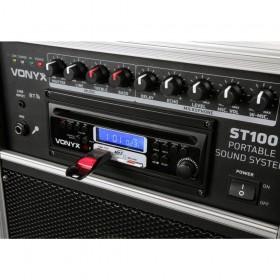 Vonyx ST100 MK2 BT/CD/MP3/UHF + Record functie