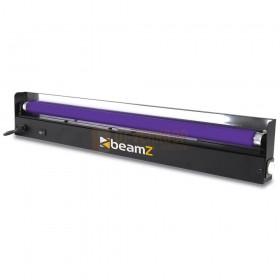 vooraanzicht van de BeamZ BUV60TL - UV-set 60cm houder en lamp