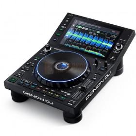 Schuin aanzicht Denon DJ SC6000 Prime - Professionele DJ-mediaspeler met 10,1-inch touchscreen en WiFi-muziekstreaming
