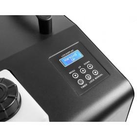 Display van de BeamZ - SB1500LED Rook- & Bellenblaasmachine met 12 RGB LED's