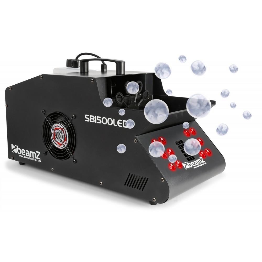 BeamZ - SB1500LED Rook- & Bellenblaasmachine met 12 RGB LED's