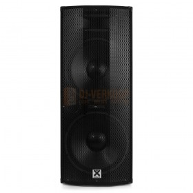 "voorkant Vonyx CVB212 - PA Speaker Active 2x 12"" BT MP3 1200W"