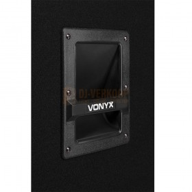 "handvat Vonyx CVB212 - PA Speaker Active 2x 12"" BT MP3 1200W"