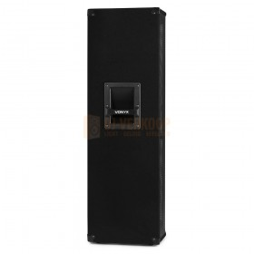 "zijkant Vonyx CVB212 - PA Speaker Active 2x 12"" BT MP3 1200W"