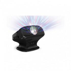 Achterkant N-Gear NS282BT - Karaoke systeem met Bluetooth speaker, disco licht en microfoon