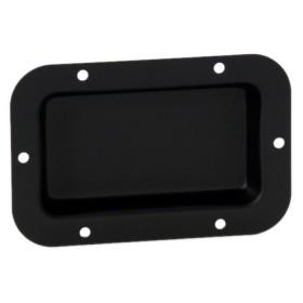 Adam Hall Hardware 8705 BLK - Schotel zwart ongeperforeerd