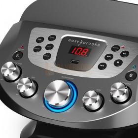N-Gear NS282BT - Karaoke systeem met Bluetooth speaker,  knoppen en bediening