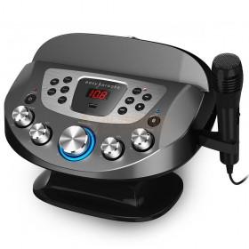 N-Gear NS282BT - Karaoke systeem met Bluetooth speaker, disco licht en microfoon