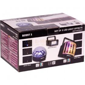 Ibiza Light boost-lightpack10 - led lichteffect set verpakking, doos