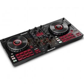 Numark Mixtrack Platinum FX - 4-Deck DJ-controller met jogwheel-displays en FX-paddles