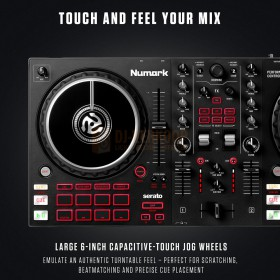 Numark Mixtrack Pro FX - 2-Deck DJ Controller met FX Paddles touch and feel your mix