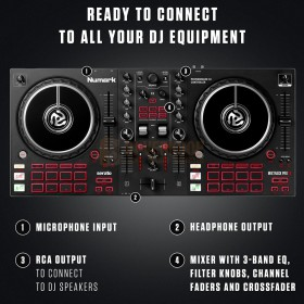 Numark Mixtrack Pro FX - 2-Deck DJ Controller met FX Paddles READY TO CONNECT
