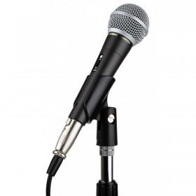 JB Systems JB10 - Professionele dynamische microfoon voorbeeld op statief