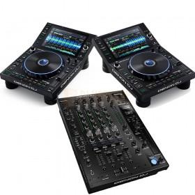 Denon DJ Prime set (2x SC6000 1x X1850)