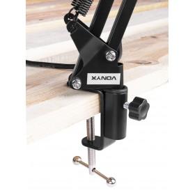 Vonyx CMS400 - Studio Set - tavel arm gemonteerd aan tafel