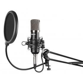 Vonyx CMS400 - Studio Set - condensatormicrofoon in spin aan verstelbare microfoon arm met pop filter