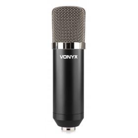 Vonyx CMS400 - Studio Set - condensatormicrofoon voorkant