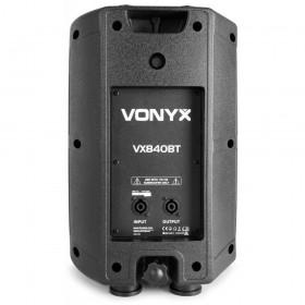 Achterkant top speakers Vonyx VX840BT - 2.1 Actieve Luidspreker set