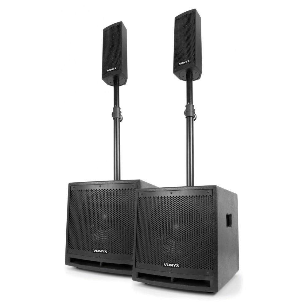 Vonyx VX1000BT Actieve speaker kit 2.2 170.104 speaker set