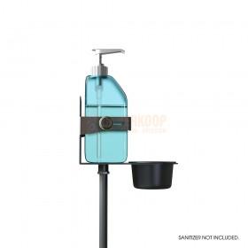 Gravity MS 23 DIS 01 B Close up van  desinfectie pomp zijkant