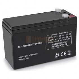 IBIZA Sound BAT-PORT7.2A - 12V-7.2AH batterij voor port8cd/8dvd/9vhf/10dvd/15vhf