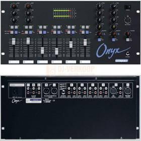 voor en achterkant Dateq ONYX - 6 Kanalen mixer