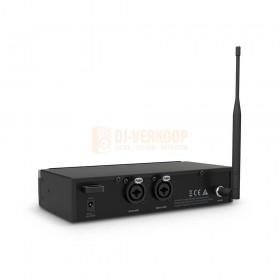 LD Systems U500 IEM HP Serie ontvanger achterkant