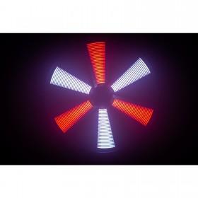 JB Systems Led Fan RGB - 50 x 50 cm ventilator LED-EFFECT