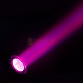 Cameo Q-SPOT 40 RGBW - Compacte spot met 40W RGBW LED in zwarte behuizing beam: Magenta