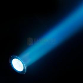 Cameo Q-SPOT 40 RGBW - Compacte spot met 40W RGBW LED in zwarte behuizing beam: Cyaan