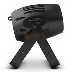 Cameo Q-SPOT 40 RGBW - Compacte spot met 40W RGBW LED in zwarte behuizing zeikant