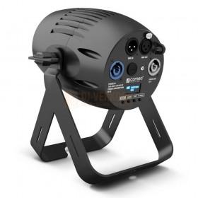 Cameo Q-SPOT 40 RGBW - Compacte spot met 40W RGBW LED in zwarte behuizing ahterkant