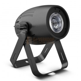 Cameo Q-SPOT 40 RGBW - Compacte spot met 40W RGBW LED in zwarte behuizing voorkant