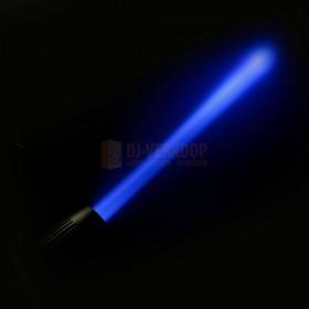 Cameo Q-SPOT 40 RGBW - Compacte spot met 40W RGBW LED in zwarte behuizing beam: Blauw