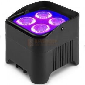 BeamZ BBP94W - Battery Uplight led Par 4x 12W WDMX voorbeeld paars