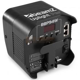 BeamZ BBP94W - Battery Uplight led Par 4x 12W WDMX onderkant