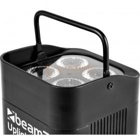 BeamZ BBP94W - Battery Uplight led Par 4x 12W WDMX hendel/handvat