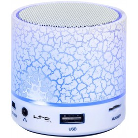 Freesound mini-WH draadlose bluetooth speaker Wit