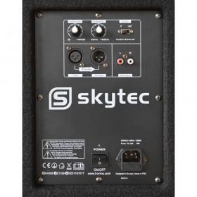 """Skytec SWA18 18"""" PA Actieve Subwoofer 1000W - achterkant aansluitingen"""