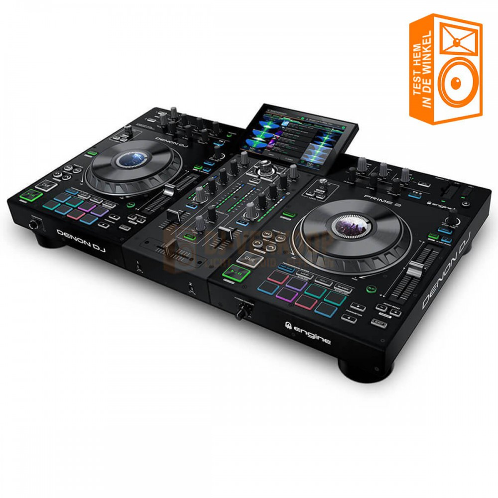 Kom de Denon DJ Prime 2 Testen in onze winkel